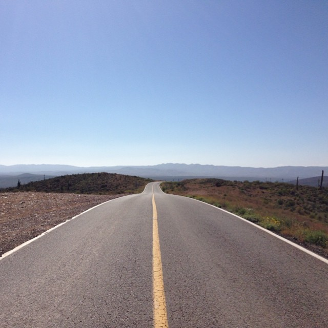 The roads of Baja California scream road trip as they stretch out into the desert hills. I was on my motorcycle but there were a surprising amount of cyclists tackling the baking asphalt. #roadtrip #bajacalifornia #mexico #roadtrip #advrider #adventure