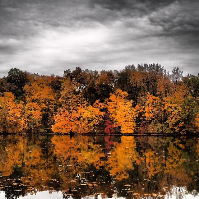 Audubon State Park, Henderson, Kentucky. #fall #colorchange #purty #twitter